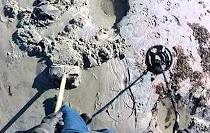 Pulse Induction Metal Detecting in Wet Salt Water Sand
